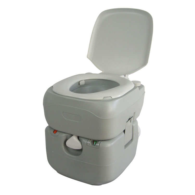 ポータブル水洗トイレ 21L ホワイト SR-PT4521送料無料 簡易トイレ 水洗式 ポータブル 非常トイレ キャンプ 介護 サンルック 21L 野外 SunRuck 【D】