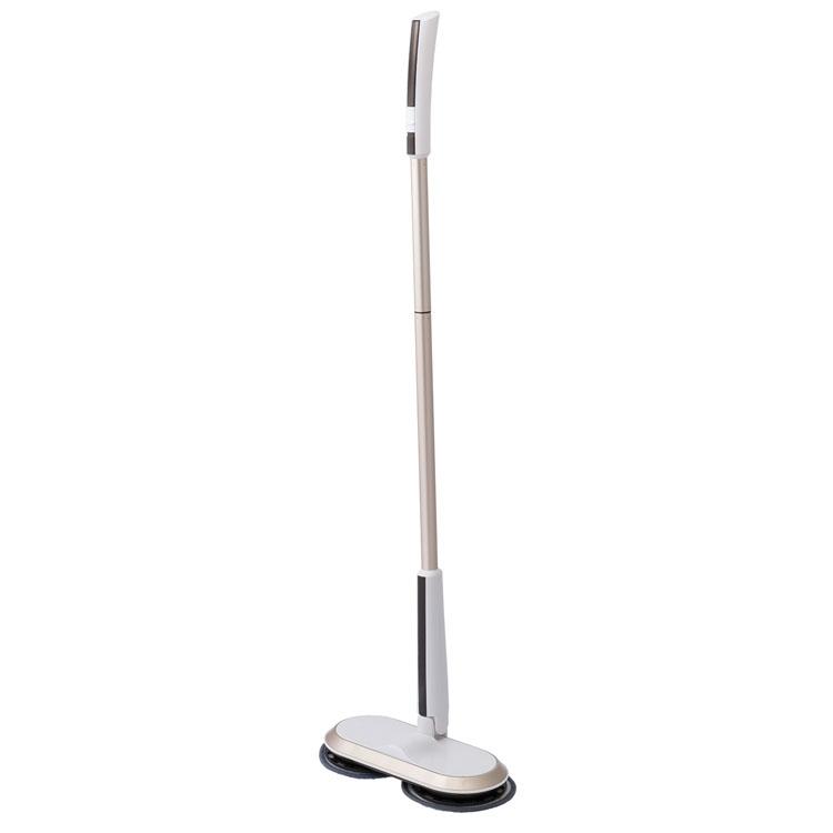コードレス回転モップクリーナー ホワイト ZJ-MA17-WH送料無料 掃除 モップ 回転 電動 床 フローリング 窓 網戸 階段 水拭き CCP 【D】