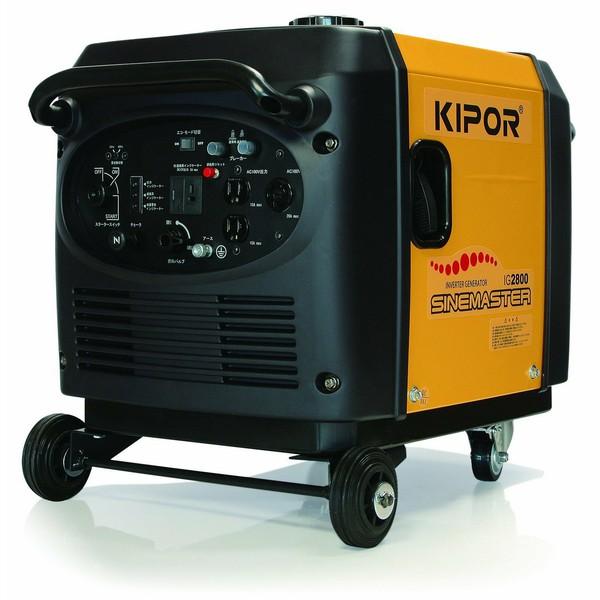 Kipor インバータ発電機 IG2800 2.8KVA【D】【DA】[発電機 アウトドア 災害 地震 停電 非常 備え]