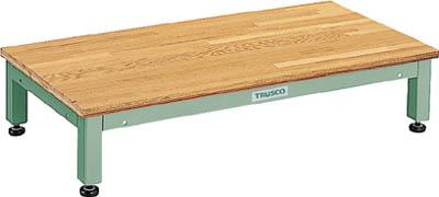【取寄品】[TRUSCO]TRUSCO 高床用木製ステップ 898X450XH190~220 UFSH0945N[工事用品 はしご・脚立 作業用踏台 トラスコ中山(株)]【TC】【TN】