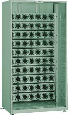 【取寄品】[TRUSCO]TRUSCO ツーリング保管庫 BT・NT50用X70個 オープン ロック付 VTL1800[物流保管用品 ツールキャビネット・コンテナラック ツーリングラック トラスコ中山(株)]【TC】【TN】