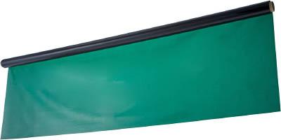 [TRUSCO]TRUSCO 溶接遮光シートノミ 0.35TXW2050XH5000 緑 A325GN[工事用品 溶接用品 溶接遮光フェンス トラスコ中山(株)]【TC】【TN】