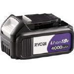 【取寄品】[リョービ]リョービ リチウムイオン電池パック 18V 4000mAh B1840L[リョービ(株)]【TC】【TN】【9ss】
