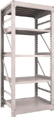 【取寄品】[TRUSCO]TRUSCO M10型重量棚 900X760XH2100 5段 単体 NG M107375[物流保管用品 物品棚 重量棚 トラスコ中山(株)]【TC】【TN】
