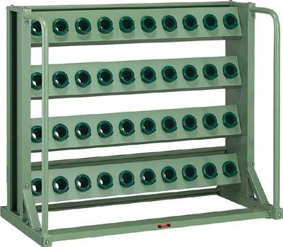 【取寄品】[TRUSCO]TRUSCO ツーリングラック BT・NT40兼用 40個収納 ロック付 VTL410[物流保管用品 ツールキャビネット・コンテナラック ツーリングラック トラスコ中山(株)]【TC】【TN】