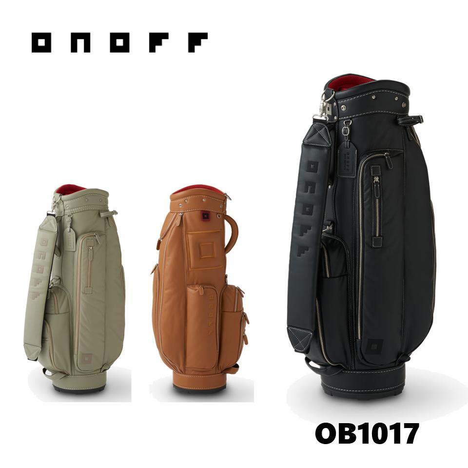 ■SALE■ オノフ キャディバッグ OB1017 ONOFF CADDIEBAG 【8.5型 3.2kg 47inch対応】