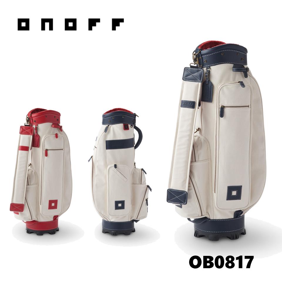 オノフ キャディバッグ OB0817 ONOFF CADDIEBAG 【8.5型 4.0kg 47inch対応】