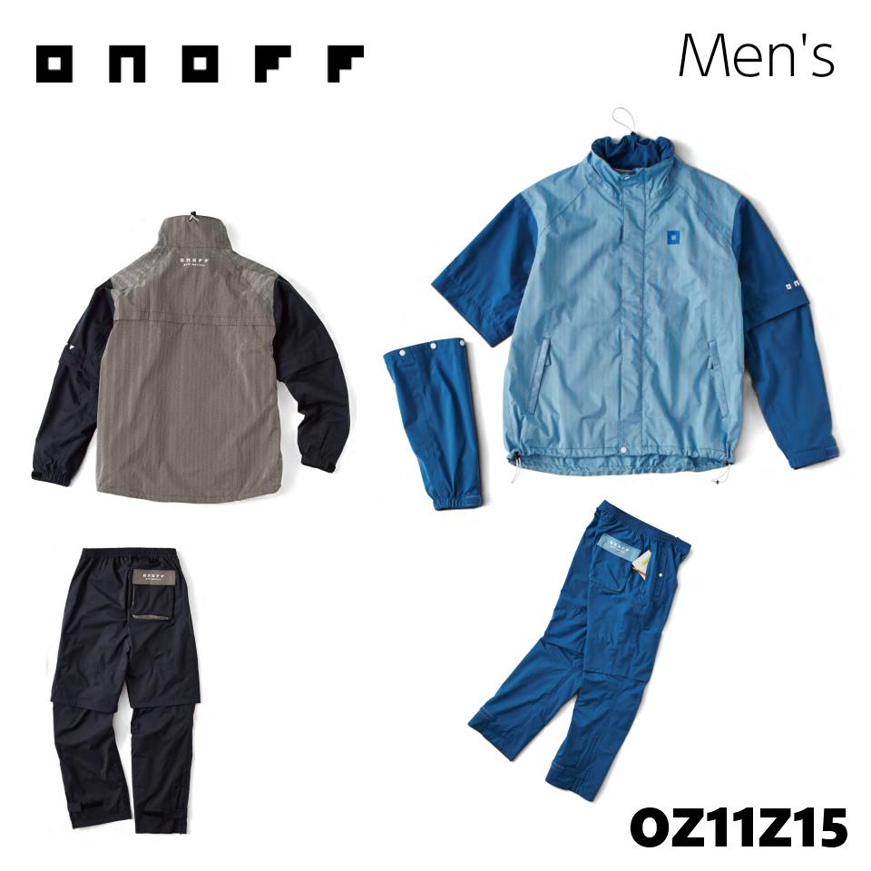 限定版 オノフ RAIN レインウェア メンズ Men's OZ11Z15 ONOFF RAIN WEAR OZ11Z15 Men's, もりたか屋:36ae3339 --- clftranspo.dominiotemporario.com