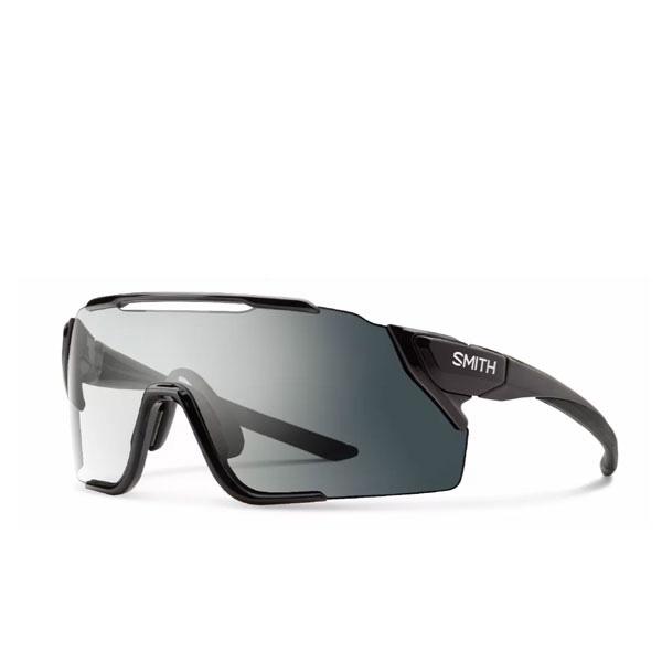 調光 レンズ2セット付き Asia Fit アジアンフィット SMITH スミス サングラス Attack MTB アタック Frame:Black Amber Low to 一部地域は除く Clear Lens:Photochromic 送料無料 爆安 CP 自転車 Light Gray レビューを書けば送料当店負担