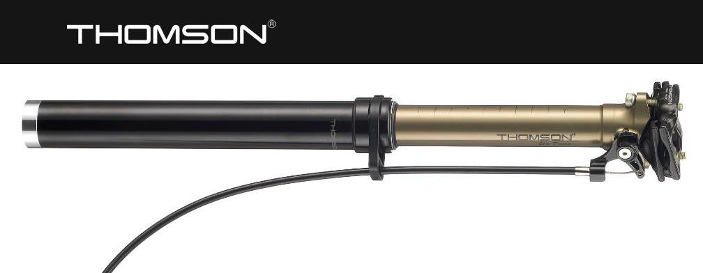 THOMSON シートポストDROPPER POST-EXTERNAL CABLE31.6mm 【送料無料】(沖縄・離島を除く)