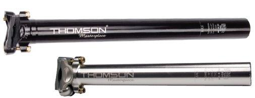 THOMSON シートポスト MASTERPIECE SEATPOST 31.6mm/350mm ブラック 【送料無料】(沖縄・離島を除く)