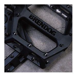 DMR VAULT PEDAL BRENDOG マットブラック 自転車 ペダル 【送料無料】(沖縄・離島を除く)