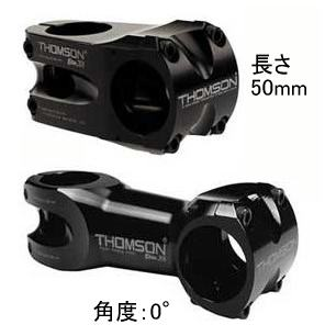 THOMSON MTB ステム X4 31.8mmステム角度0°ステム長60mmブラック