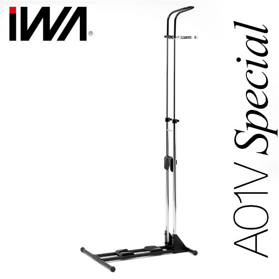 丸八工機 直営店 IWA 室内保管用スタンド A01V special 一部地域を除く ブラック 格安 価格でご提供いたします 送料無料 シルバー