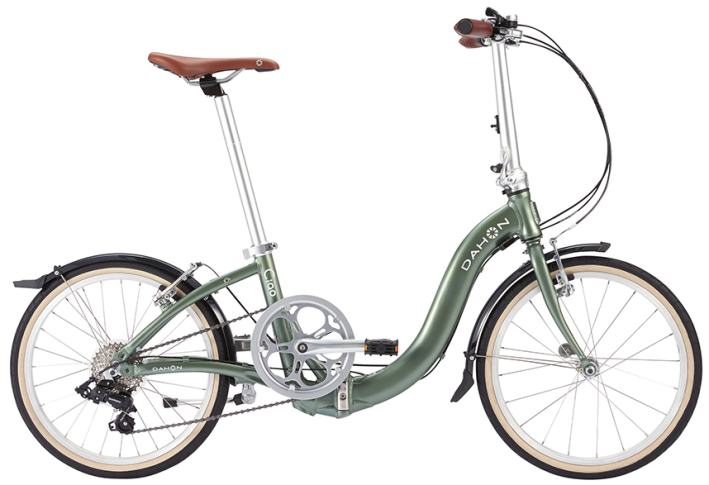 DAHON(ダホン) Ciao 20インチ アルミフレーム 7段変速 カーキ 折りたたみ自転車 2018年モデル 【送料無料】(沖縄・離島を除く)
