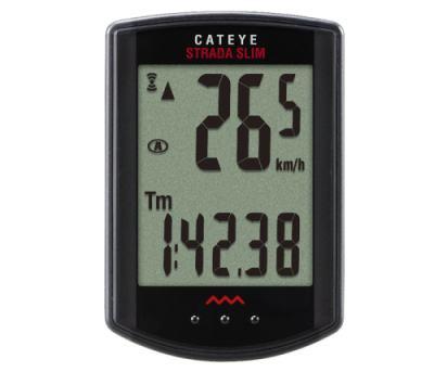 CATEYE ストラーダスリム キャットアイ CC-RD310W ブラック 自転車 SLIM 激安価格と即納で通信販売 サイクル 激安格安割引情報満載 コンピューター STRADA