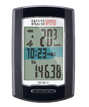 キャットアイ CC-GL11 STEALTH evo STEALTH11 サイクル コンピューター 自転車 【送料無料】(沖縄・離島を除く)