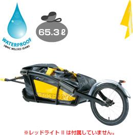 TOPEAK トピーク ジャーニートレイラー アンド ドライバッグ 自転車用 【送料無料】(沖縄・離島を除く)