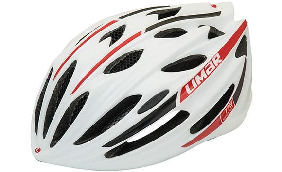 LIMAR リマール 778 ホワイト/ブラック/レッド 自転車用 ヘルメット 【送料無料】(沖縄・離島を除く)