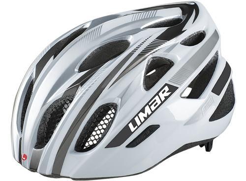 LIMAR リマール 555 ホワイト/シルバー/チタン 自転車用 ヘルメット
