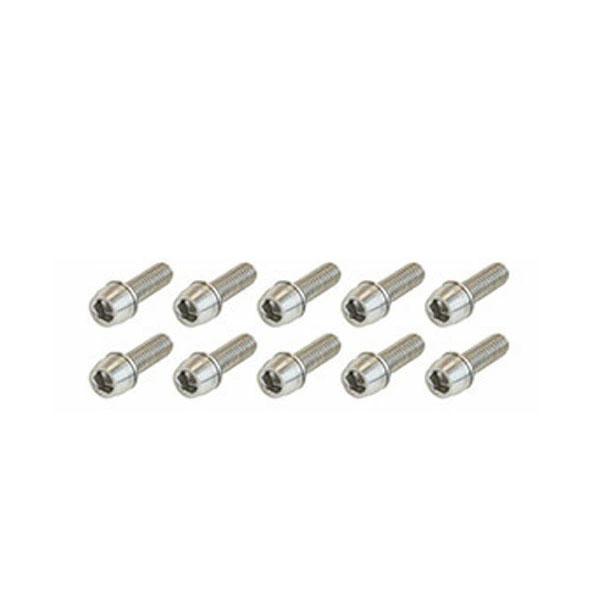 AS6 Stainless 本日限定 Bolt Set 工具 ADEPT アデプト ステンレス ボルト 同サイズ10本セット 送料無料 メンテナンス ゆうパケット発送 キャンペーンもお見逃しなく 自転車 20mm セット M6x16 18