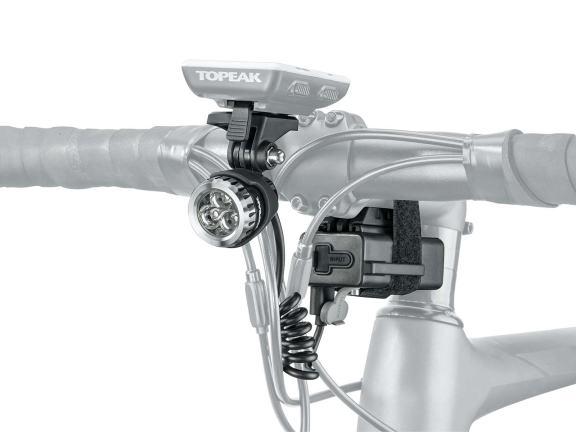 TOPEAK トピーク ヘッドライト ホワイトライト HP メガ 420 自転車用 【送料無料】(沖縄・離島を除く)