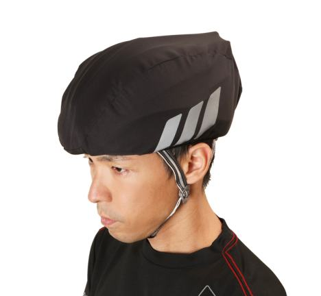 ブランド品 オージーケーカブト HELMET 18%OFF RAIN COVER OGK Kabuto 自転車 フリーサイズ ヘルメットレインカバー ブラック