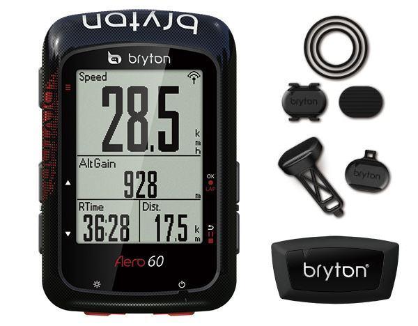 Bryton ブライトン Aero 60T トリプルセンサーキット 自転車 サイクルコンピューター送料無料 沖縄・離島は追加送料かかります