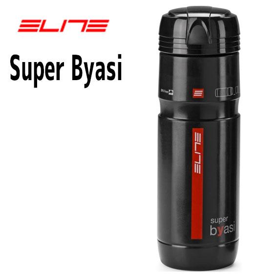 ストレージボトル ツールボトル ELITE オンラインショッピング エリート Super Byasi グロッシーブラック 0122902 自転車 驚きの値段で 2段収納ツールボトル スーパービアーシ