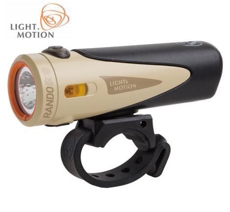 ランド500 フロントライト ヘッドライト Tan Black LIGHTMOTION ライトアンドモーション RANDO 沖縄 売店 500 自転車 [宅送] タン 送料無料 北海道 離島は追加送料かかります ブラック
