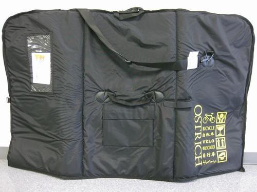 オーストリッチ トラベルバッグ OS-500 ブラック 自転車 【送料無料】(沖縄・離島を除く)