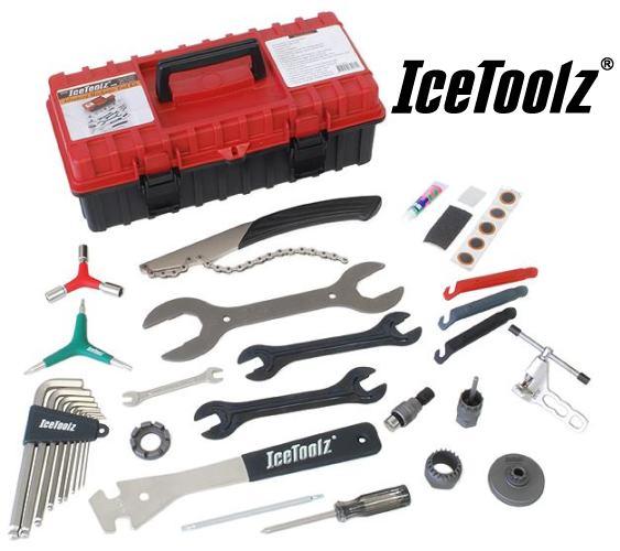 IceToolz 85G1 工具セット 17点 工具 自転車 【送料無料】(沖縄・離島を除く)