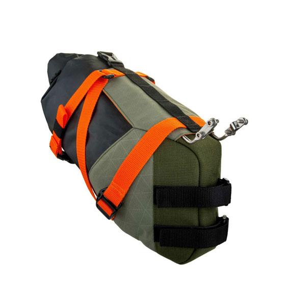 パックマンサドルパック 防水 キャリア付き birzman バーズマン Packman Saddle Pack with サドルバック 自転車 一部地域は除く 8L 容量 carrier セール品 送料無料 安全 Waterproof