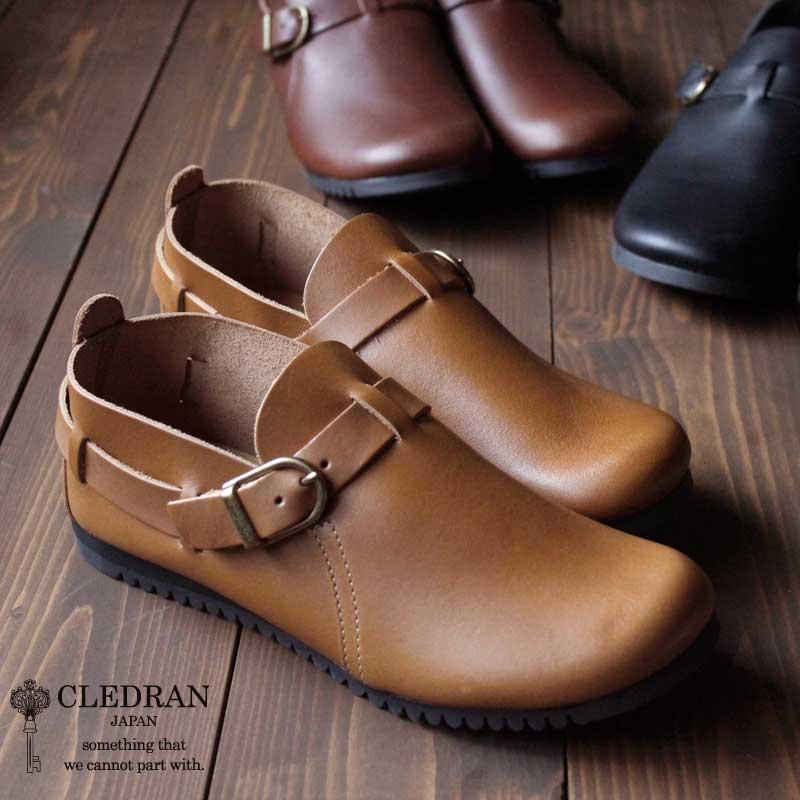 【メッセージカード・ラッピング無料】CLEDRAN(クレドラン) MID CUT SHOE オイルドレザーシューズ 本革 革 靴 CL1431