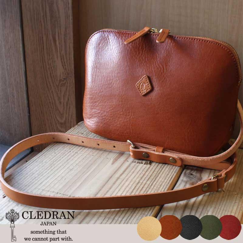 CLEDRAN(クレドラン)FLA(フラム)お財布ポーチ ショルダーバッグ CL2763【店頭受取対応商品】