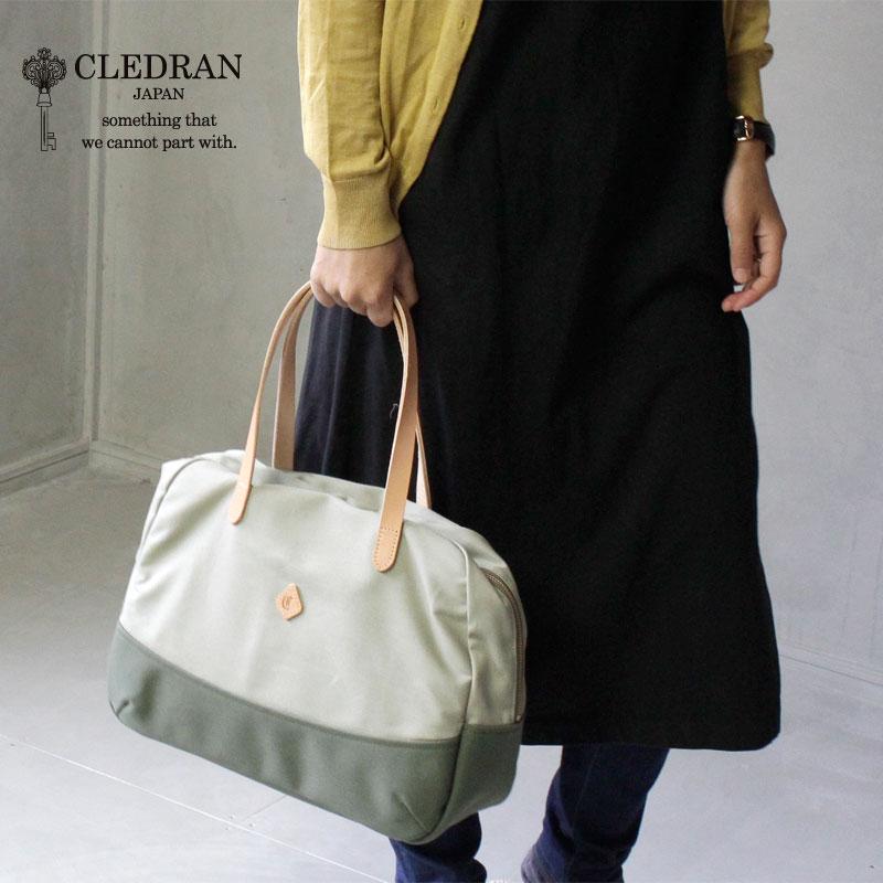 【選べるノベルティ】CLEDRAN(クレドラン)CONTE(コンテ)コットン ボストンバッグ CL2969【店頭受取対応商品】