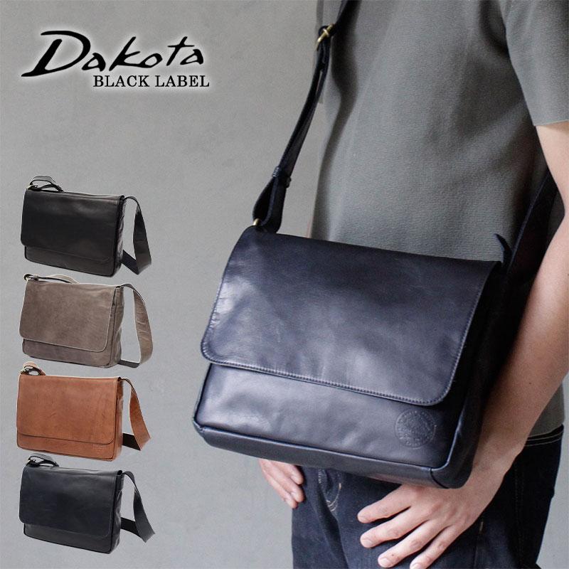【メッセージカード・ラッピング無料】【選べるノベルティ大好評】Dakota BLACK LABEL ダコタブラックレーベル ホースト 馬革 ショルダーバッグ 1620428【日本製】【B5】