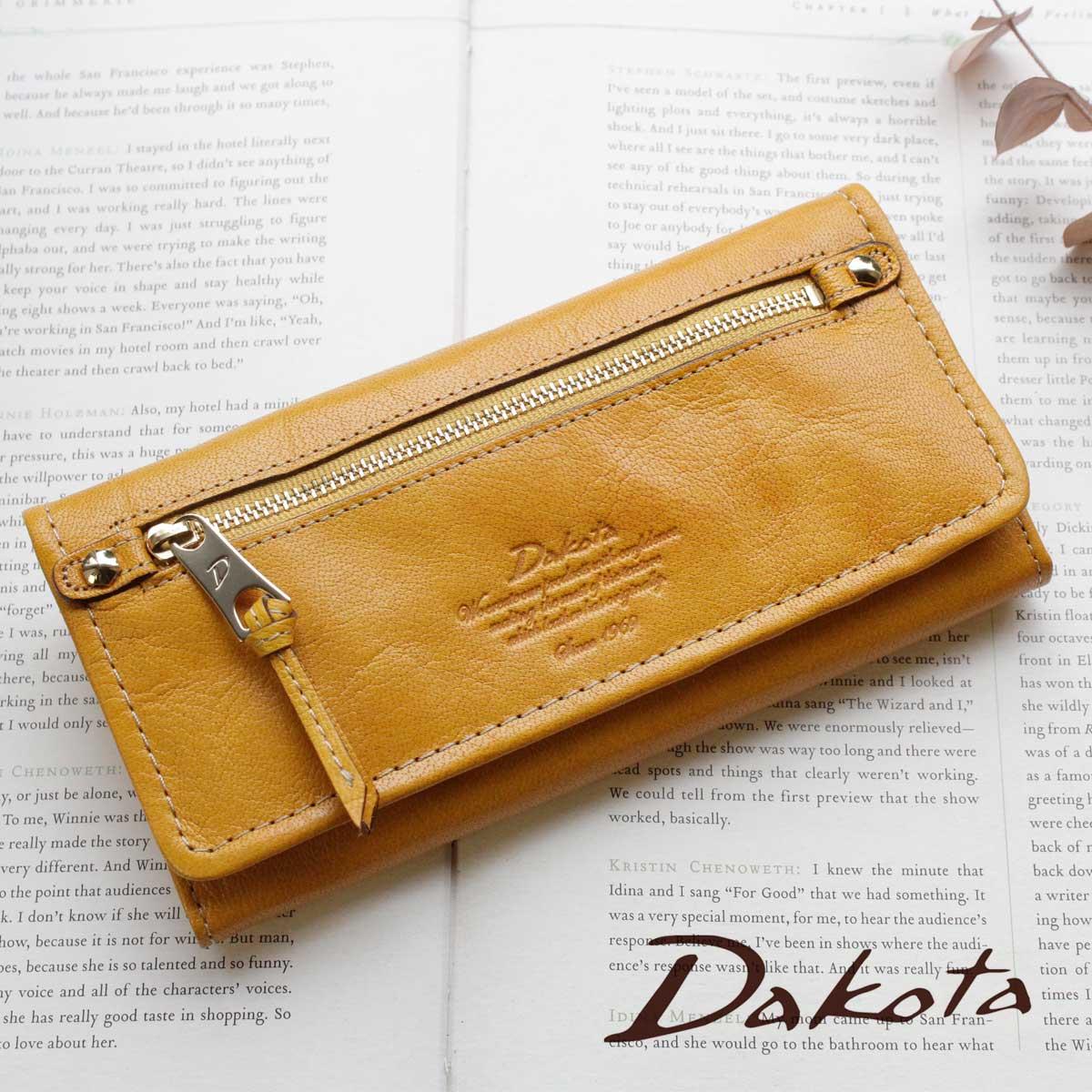 【メッセージカード・ラッピング無料】【選べるノベルティ大好評】長財布 Dakota ダコタ モデルノ 0035082