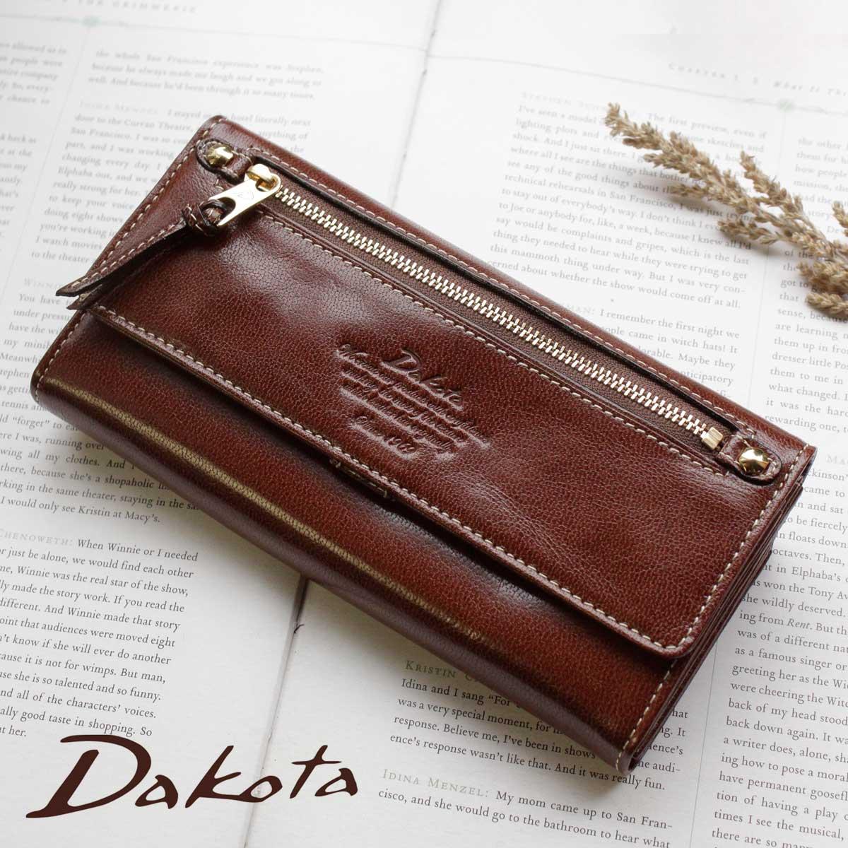 【メッセージカード・ラッピング大好評】【選べるノベルティ大好評】長財布 Dakota ダコタ モデルノ 0035089