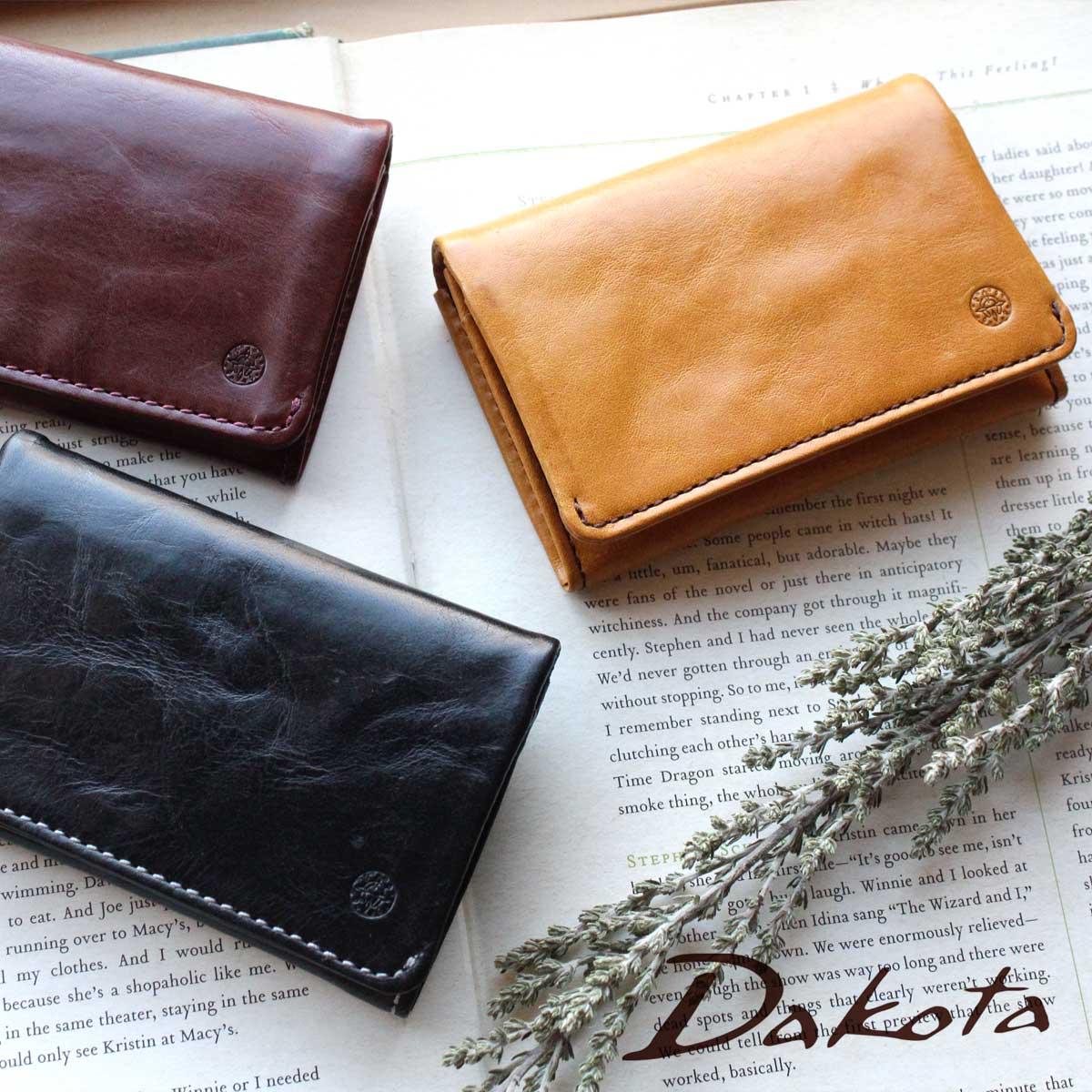 ダコタ Dakota 財布 レザー プレゼントラッピング無料です。 カードケース Dakota ダコタ クラプトン 名刺入れ 0035122(0031522) - beavotron.com