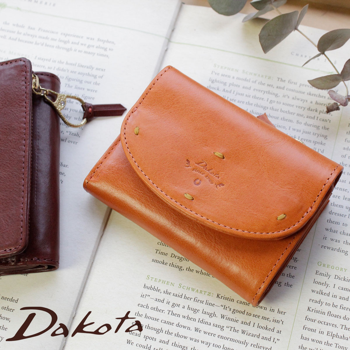【選べるノベルティ大好評】Dakota ダコタ カッシーニ 3折財布 ミニ財布 コンパクト財布 0036048【店頭受取対応商品】