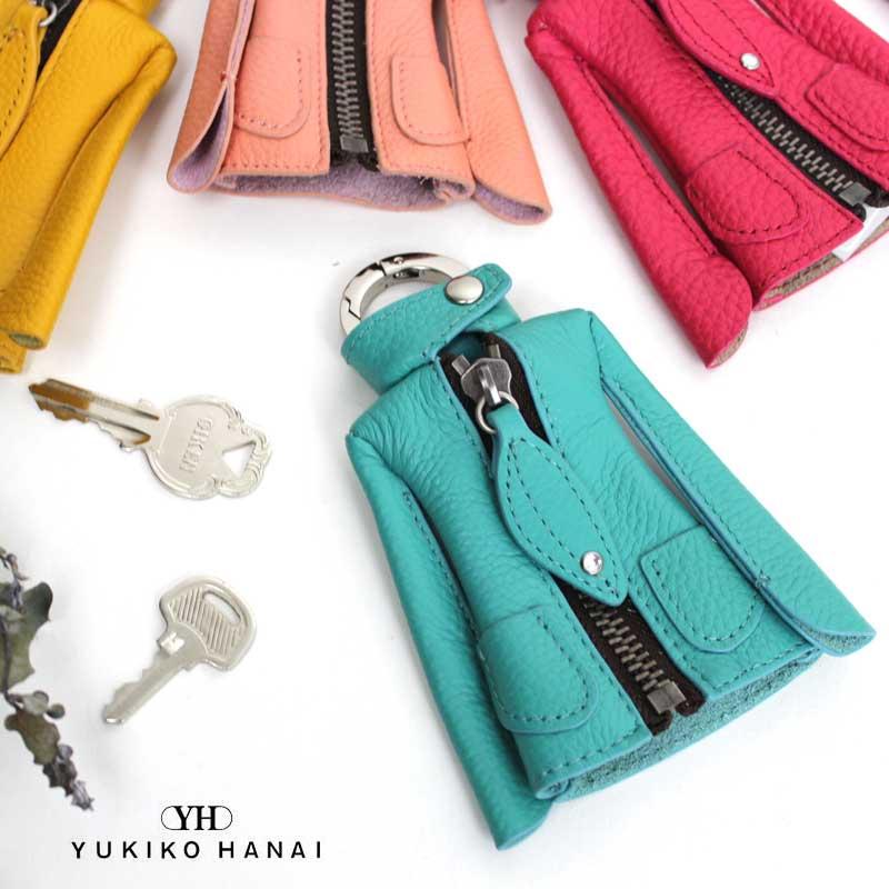 YUKIKO HANAI ユキコハナイ リンダ ジャケット型キーケース 6030150【ゆうパケット可能】【店頭受取対応商品】