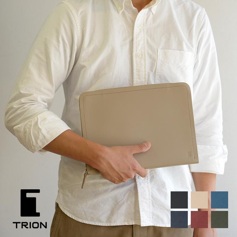 【メッセージカード・ラッピング無料】【選べるノベルティ大好評】ドキュメントケース TRION トライオン SA802(SS802) タブレットケース iPadケース【B5】
