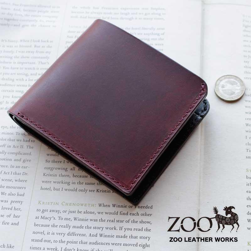 【メッセージカード・ラッピング無料】ZOO(ズー)バジャー ビルフォード3 日本製 二つ折り財布 本革 ラティーゴレザー badger3 zbf-005【店頭受取対応商品】