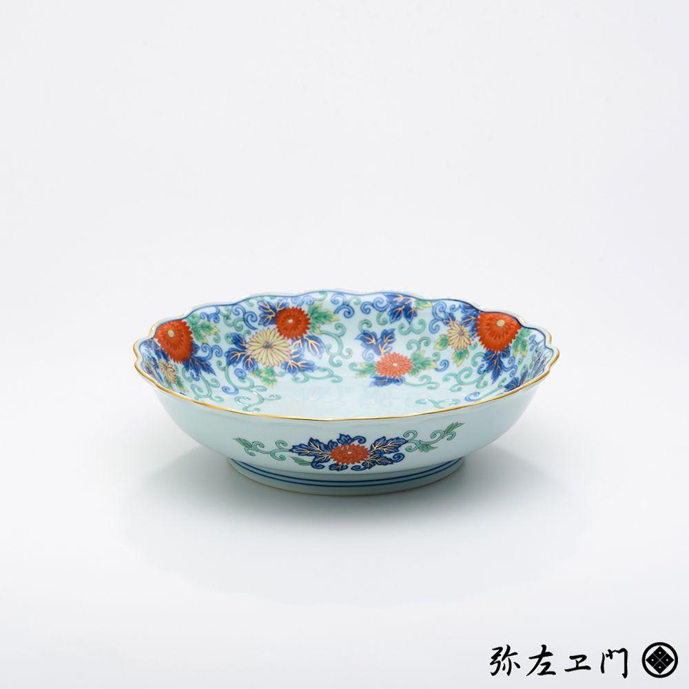 弥左ヱ門窯 有田焼 菓子鉢 菊詰 │ ギフト プレゼント 贈答用