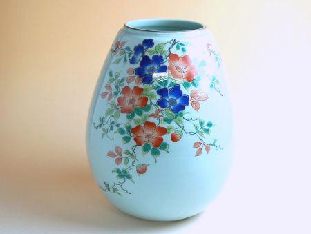 【有田焼】染錦ばら 花瓶【あす楽対応商品】(月~土)※13時までのご注文で翌日お届けが可能です