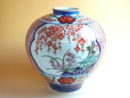 【有田焼】京香 花瓶【あす楽対応商品】(月~土)※13時までのご注文で翌日お届けが可能です
