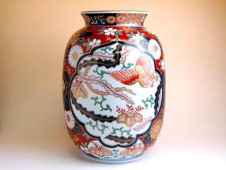 【有田焼】元禄みやび 花瓶【あす楽対応商品】(月~土)※13時までのご注文で翌日お届けが可能です
