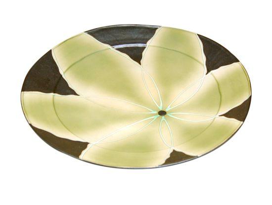 和食器 お皿 大皿 おしゃれ 有田焼 波佐見焼 きらり 緑
