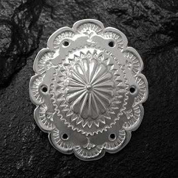 アリゾナフリーダム シルバーアクセサリー コンチョ 【NO.3】 シルバーコンチョ NO.3-009 素材: SV925 【Concho】